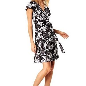 Inc International Concepts Print Faux Wrap Dress